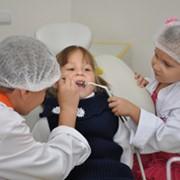 Лечение неосложненного кариеса молочного зуба фото