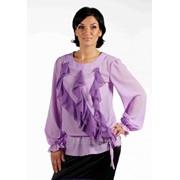 Блуза 508-1 Сирень цвет фото