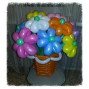 Оформление воздушными шарами, подарки, композиции фото