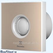 Вентилятор бытовой накладной для санузлов Electrolux Электролюкс Rainbow EAFR-100TH beige с датчиком влажности фото