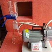 Установка вакуумной фильтрации 1000мл. фото