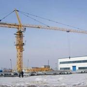 Кран башенный QTZ-125 фото
