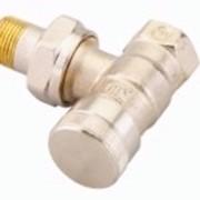 Радиаторный терморегулятор угловой, никелированный 20 Арт. 003L0145 фото