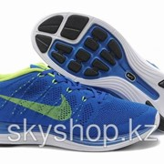 Кроссовки Nike Flyknit Lunar1+ Blue Yellow 40-44 Код Lunar08 фото