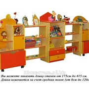Стенка для игрушек Осень (фанера) 2.7 фото