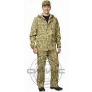Костюм Егерь и : куртка, брюки тк. смесовая КМФ Тайга фото