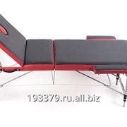 Трёхсекционный алюминиевый массажный стол AL-3-16 фото