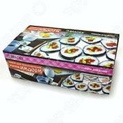 Набор для приготовления роллов МИДОРИ +подарок Набор пластиковых форм для варки яиц без скорлупы фото