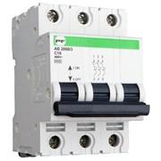 Автоматический модульный выключатель АВ2031 3Р C 4A 6кА Standart 42003