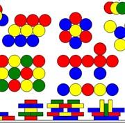 Пособие дидактическое Разноцветные круги Кайе фото