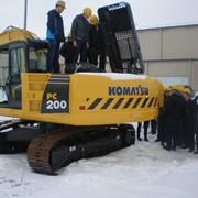 Диагностика строительных машин фото
