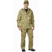 Костюм Егерь + (куртка, брюки) (ткань смесовая) КМФ Тайга фото