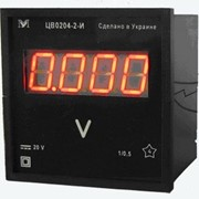 Вольтметр ЦВ0303-3-С 0-500В АС фото