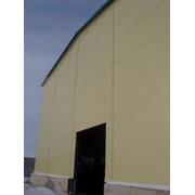 Сэндвич-панели стеновые с минераловатным наполнителем на базальтовой основе (ширина 1190 мм, толщина 50 -250 мм, длинна до 7 метров) фото