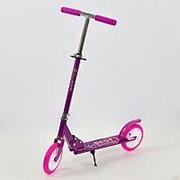 Самокат Scooter алюминиевый 109 N фиолетовый (колеса 20 см) фото