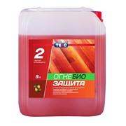 Огнебиозащитный материал для древесины Оптимал 5л. фото