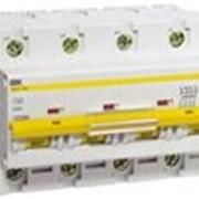 Автоматический выключатель ВА 47-100 4Р 10А 10 кА х-ка С ИЭК фото