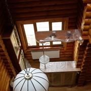 Комплексные отделочные работы в деревянном доме фото
