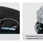 Заглушка FS для труб и с отводом жидкости BK 80 / 140 FS арт 1483001000 фото