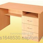 Стол письменный, с ящиками справа, 4102