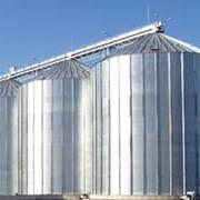 Силосы для хранения зерновых культур фото