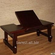 Стол под ноутбук из массива сосны 1 фото