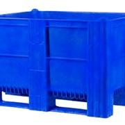 Пластиковый контейнер сплошной на полозьях Модель 1000 ACE фото