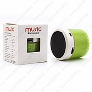Портативная Bluetooth колонка Music Mini Speaker (Зеленый) фото