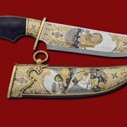 Нож Охота на льва 380*210*45*5 фото