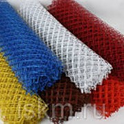 Плетеная сетка Рабица 45х45 мм, высота 1,5 м Красный фото