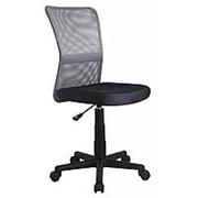 Кресло компьютерное Halmar DINGO (серо-черный) фото