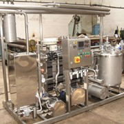 Пастеризационно-охладительные установки автоматизированные ПОУА 15, 25 фото