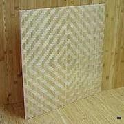 Декоративно-отделочные плиты из бамбукового тёса, обои из натуральных материалов: джута, тросника, степной травы, нитей папируса. фото