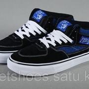 Кеды Vans Half Cab Black/Blue 38-44 , кроссовки, сникеры, шузы Код Van009 фото
