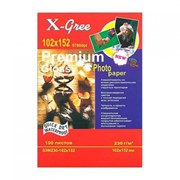 Фотобумага X-Gree 10*15 230гр. глянцевая 120 листов фото