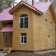 Строительство каркасных домов. фото