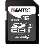 Карта памяти SDHC 16GB UHS-I/U3 Class 10 Emtec Platinum (ECMSD16GHC10PL)