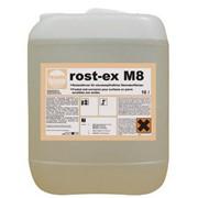 Удалитель ржавчины с каменных покрытий ROST-EX M8 1л (готовый раствор) фото