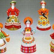 Дымковская игрушка - Барыни фото