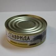 Рыбные консервы Ставрида 240 гр фото