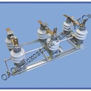 Разъединитель РЛНД-1-10 IV/400 (полимерный изолятор) с приводом ПРНЗ-10 фото