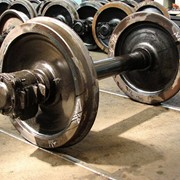 Запасные части к грузовым вагонам, колесные пары СОНК, колесные пары б/у фото