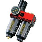 Модульная группа для подготовки воздуха с регулятором давления и манометром, 3/8, усиленная PAP-C615B фото