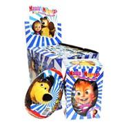 Шоколадне Яйце Маша і Ведмідь ЗИМА,60г 1685 фото