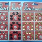 Кнопки пришивные металлические Koh-i-noor d 10мм фото