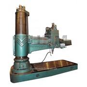 Станок радиально-сверлильный модель 2А587 фото