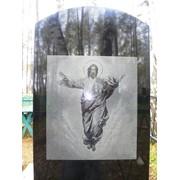 Гравировка портретов на памятниках фото