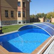 Укрытие для бассейна,чехол на бассейн,накидка для бассейна. фото