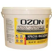 Краска 2,7 л OZON Basic фасадная матовая ВДАК 111 фото
