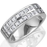 Кольца с бриллиантами A37835-1 фото